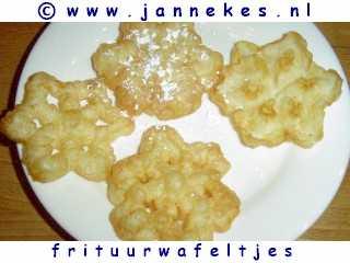 recepten voor frituurwafeltjes