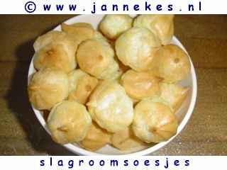 recepten voor slagroomsoesjes