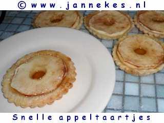recepten voor snel appeltaartje