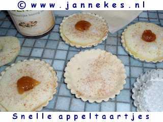 recept voor snelle mini-appeltaartjes