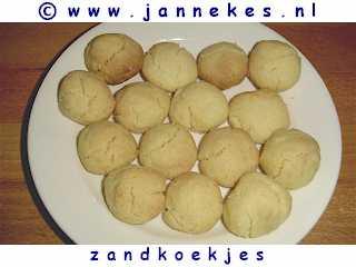 recepten voor zandkoekjes