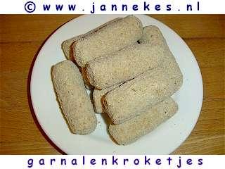 recepten voor garnalenkroketjes