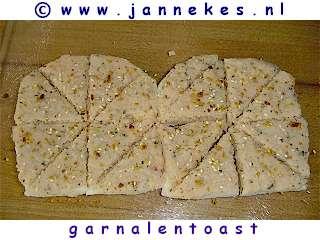 recepten voor Garnalentoast