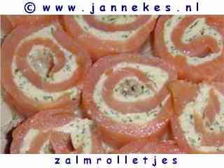 foto recept zalmrolletjes